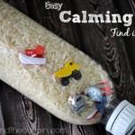 """Una solución práctica, sencilla y barata para calmar a los niños es el juego de """"busca y encuentra"""""""