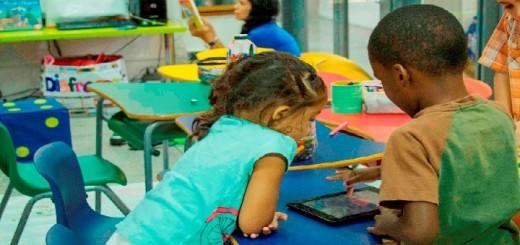 Durante casi tres meses realizarán actividades en la Biblioteca de Los Palos Grandes