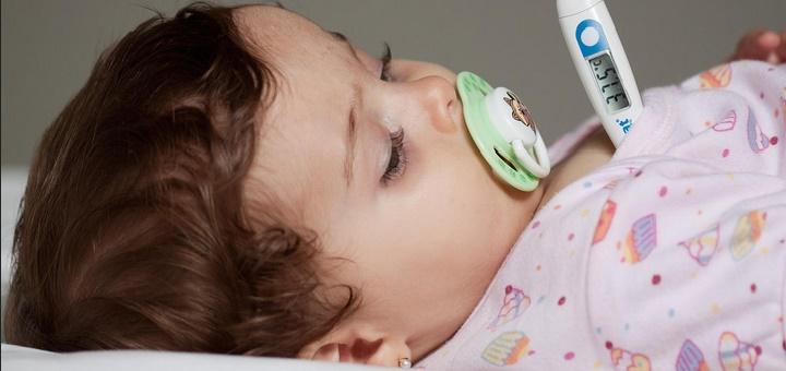 La fiebre debe bajarse luego de los 38,5 grados centígrados