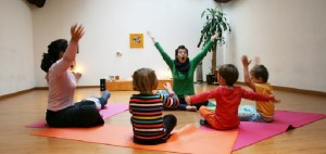 La yoga es saludable para los niños