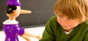 Los niños y las mentiras es algo de cuidado