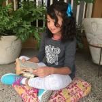Eva a sus 8 años de edad sabe bien que siente a Dios en su corazón