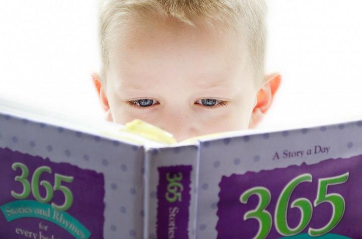 Los libros son un mundo abierto para los niños