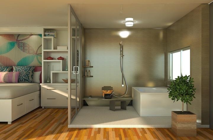 bath-ingenio al decorar cuartos y banos-somospadres.info-Foto Pixabay