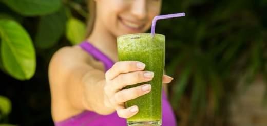 Los jugos verdes son saludables